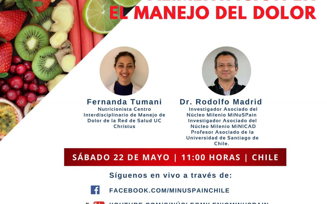 SECOND EXHIBITION OF TALKS ON PAIN AND FIBROMYALGIA CYCLE, ORGANIZED BY THE MILLENIUM NUCLEUS MINUS PAIN